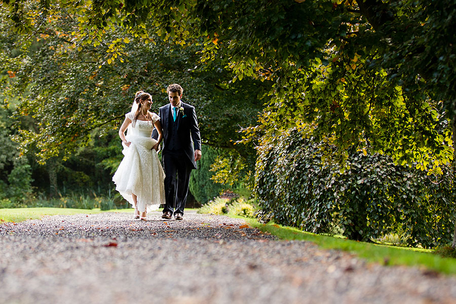 Bride and Groom wedding photography portrait at Turkey Mill in Kent