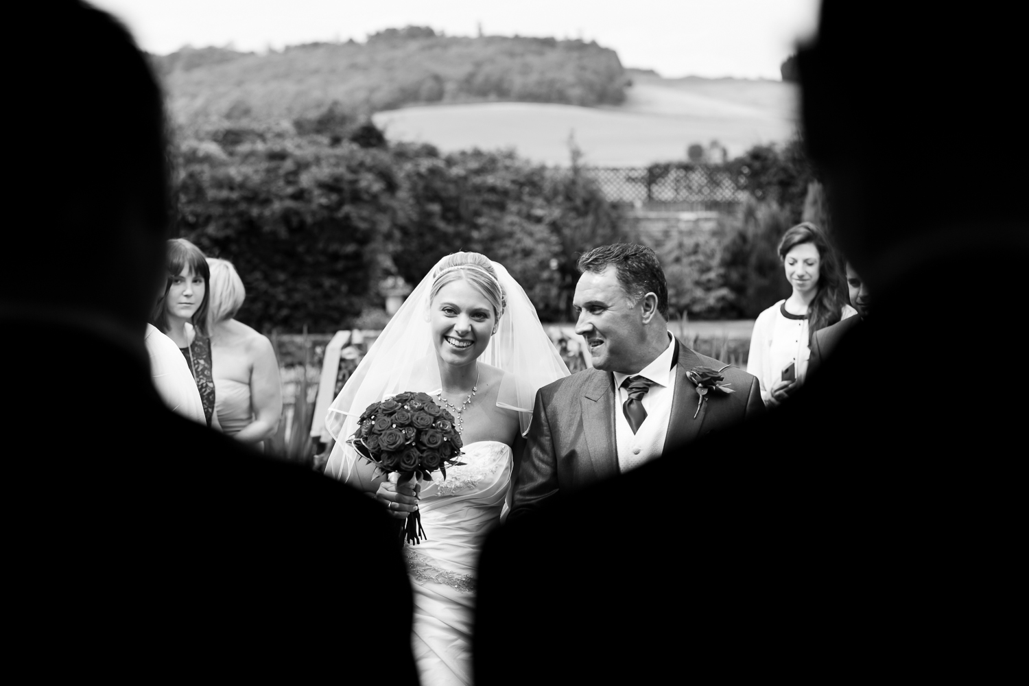 Bride-Walking-Down-The-Aisle-Photography