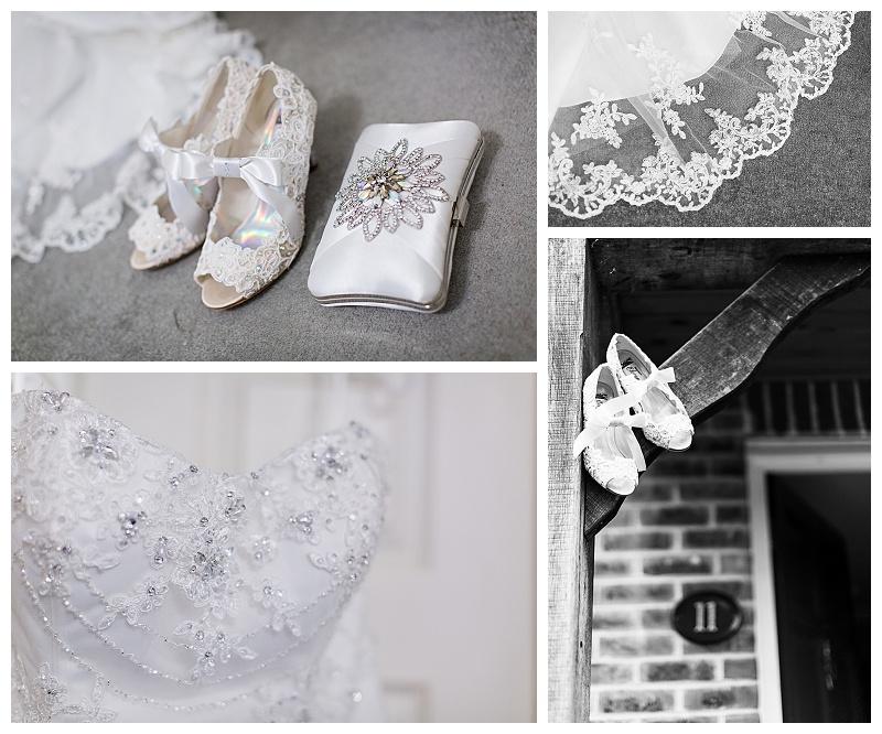 Wedding Dress Details Wedding Shoes