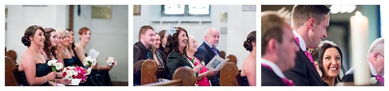 Holy Cross Church Uckfield Wedding Congretation