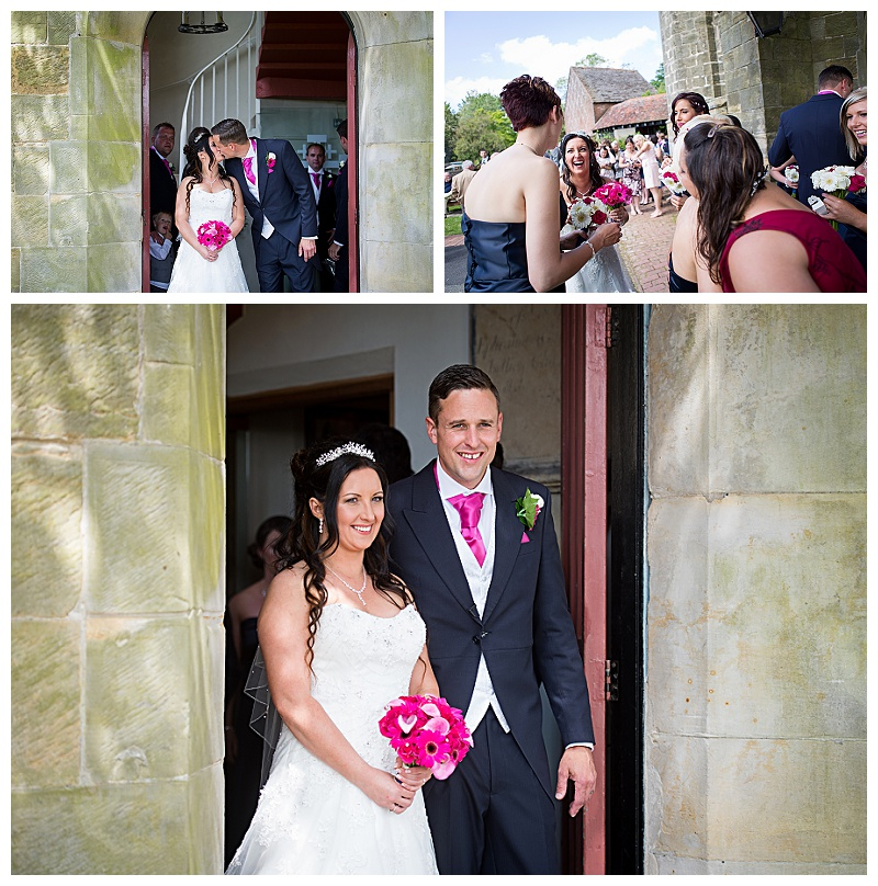 Uckfield Holy Cross Church Wedding