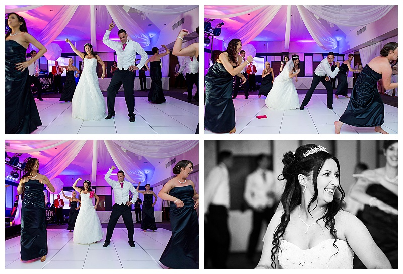 Wedding Party Choreographed First Dance