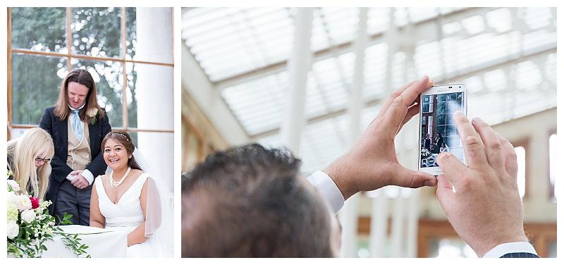 Kew Gardens Wedding images
