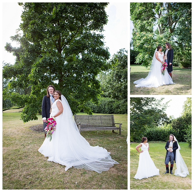 Romantic Wedding Couple at Kew Gardens