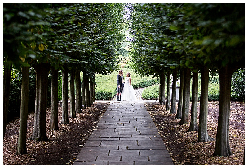 Beautiful Kew Gardens Wedding Photography Portrait