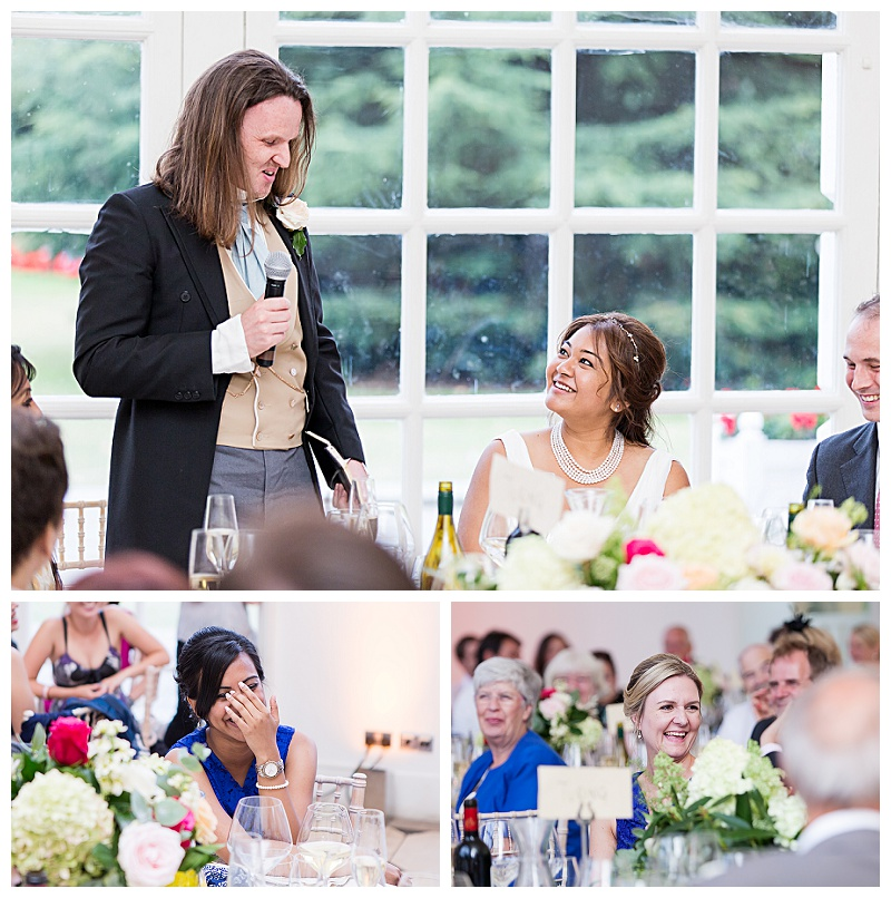 Wedding Breakfast at Kew Gardens, Richmond London