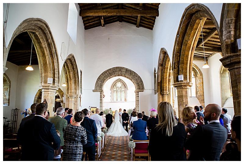 Holy Cross Wedding Ceremony