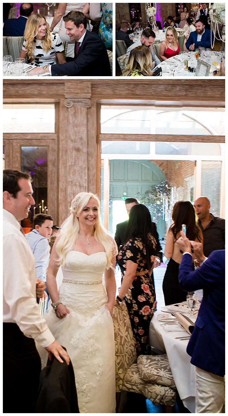Fawsley Hall Wedding Breakfast