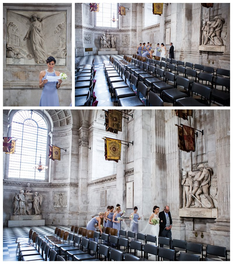 Beautiful St Paul's Cathedral Wedding Photographer