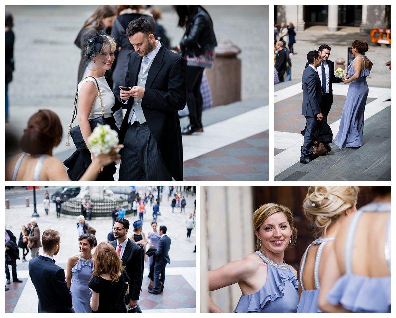 Beautiful Drapers Hall Wedding Photography