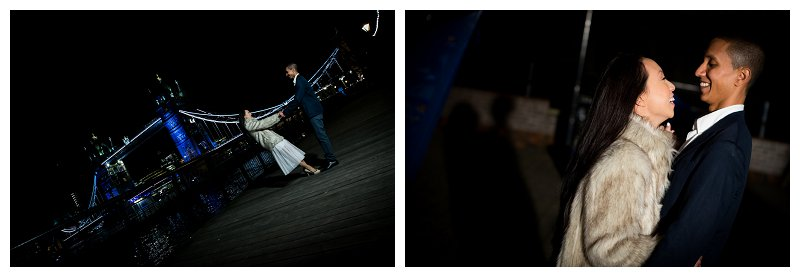 10 Romatic Pre Wedding Engagement Shoot Photography River Thames St Katherine's Dock Tower Bridge City of London