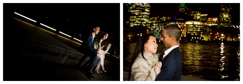 14 best pre wedding photographer city of london river thames tower bridge night time romantic photography