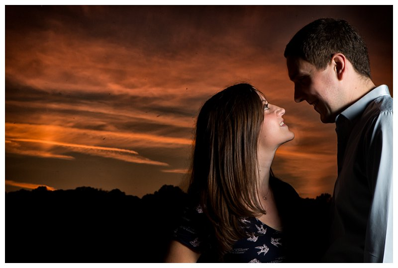 8 Kent Wedding Photographer Five Arches Cray Meadows Stunning Sunset
