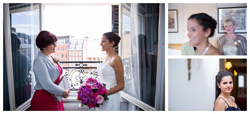 Fantastic London Wedding Photographer Saville Club Mayfair