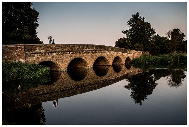 FI Kent Wedding Photographer Five Arches Beautiful Bridge Shot Engagement Shoot