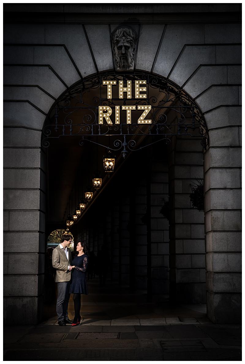 Ritz Engagement Shoot Photographer