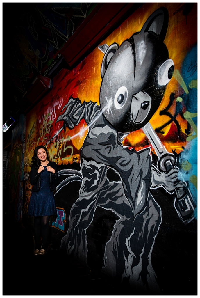 Banksy Tunnel Engagement Shoot Photographer