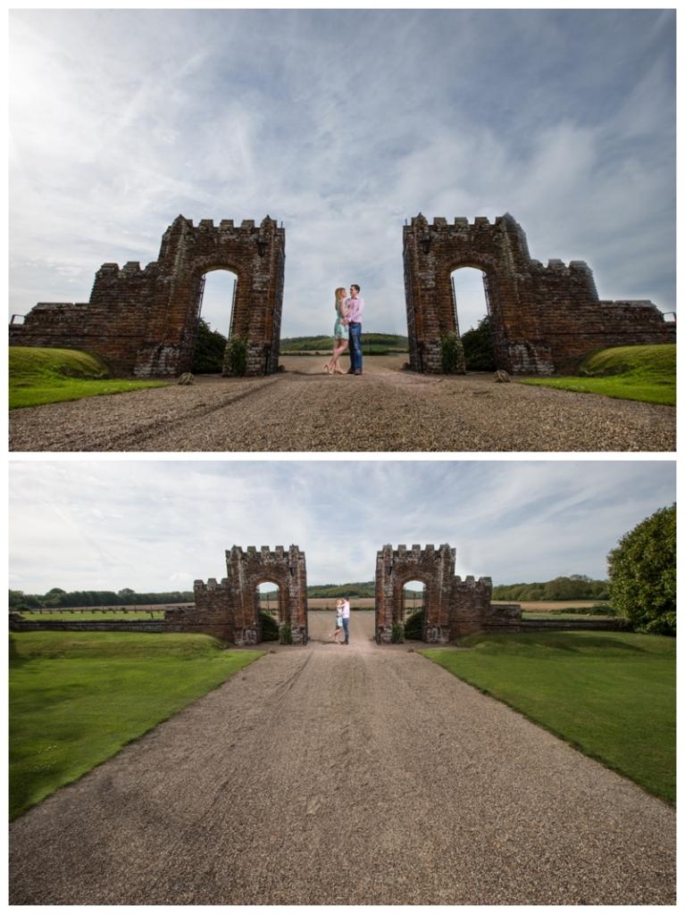 Amazing Engagement Photographey Eastwell Manor Ashford Kent