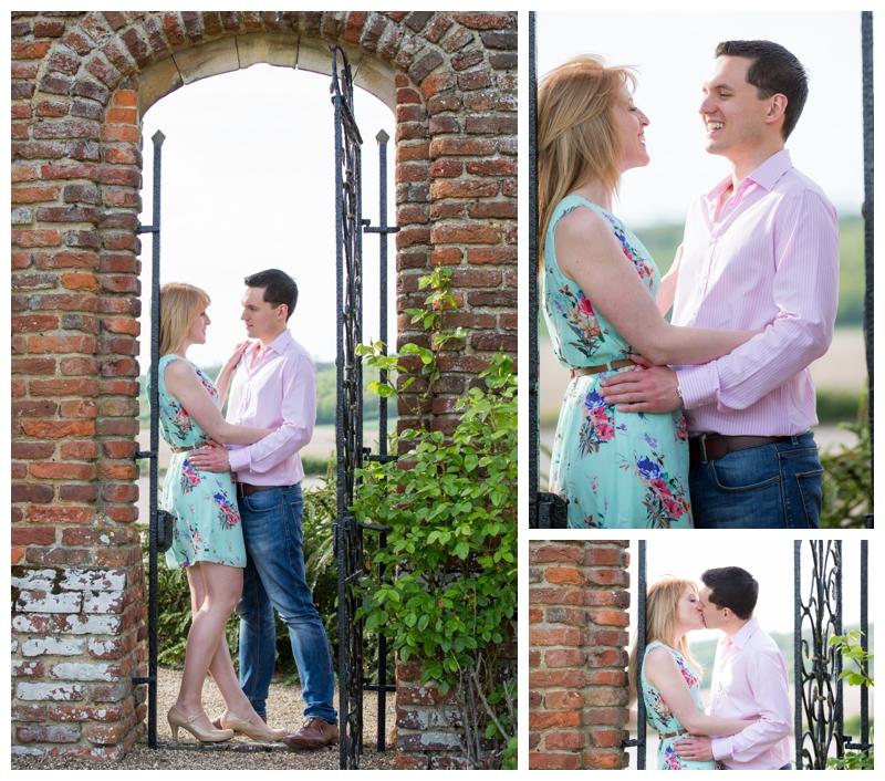 Beautiful Engagement Photography Eastwell Manor Ashford Kent