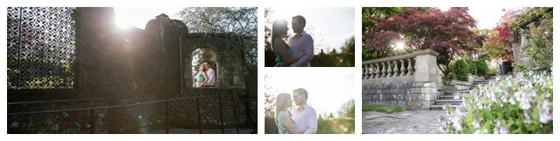 Gorgeous Engagement Photography Eastwell Manor Ashford Kent