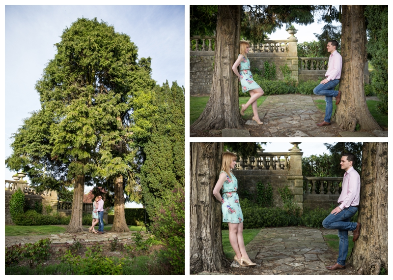 Natural Engagement Photographer Eastwell Manor Ashford Kent
