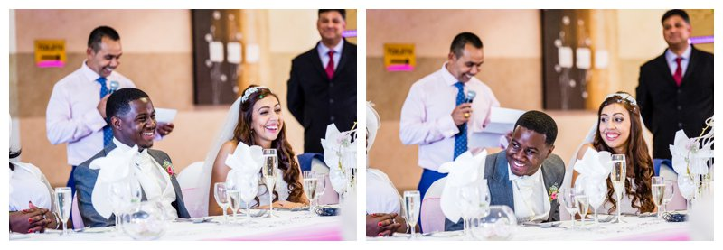 The Warren Bromley Wedding Speeches Photography