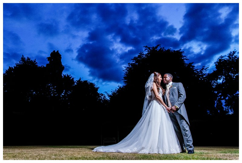 Dramatic Bromley Wedding Photography, The Warren, Kent
