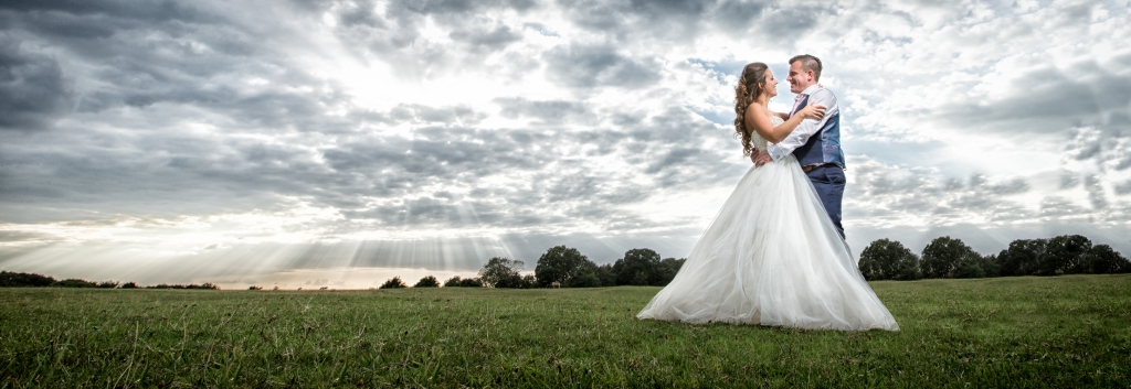 Kent Wedding Photographer Preston Court Crepuscular Rays
