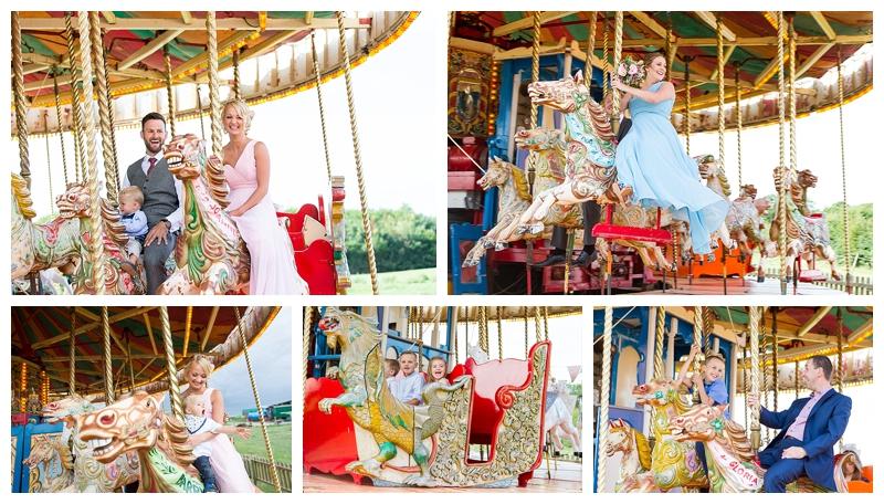 Fantastic Kent Wedding Photography Preston Court Carousel