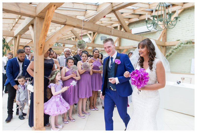 Romantic Essex Wedding Photography - Gaynes Park