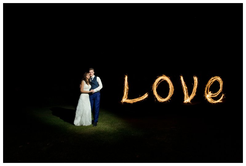 Sparkler Specialist Essex Wedding Photographer - Gaynes Park