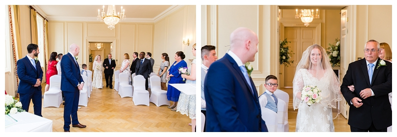 Best London Wedding Photography ORNC Admirals House Wren Room Ceremony