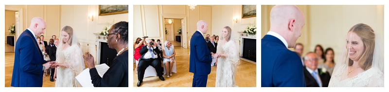Great London Wedding Photographer ORNC Admirals House Wren Room Ceremony