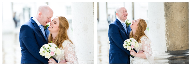 Beautiful Bridal Portrait Top London Wedding Photographer ORNC Admirals House Greenwich
