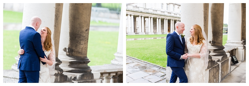 Romantic Bridal Portrait Top London Wedding Photography ORNC Admirals House Greenwich
