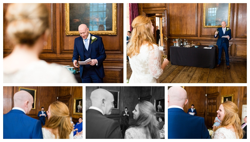 Top London Wedding Photography ORNC Admirals House Greenwich Speeches