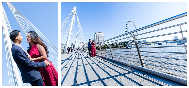 Best London Engagement Photographer Millenium Bridge