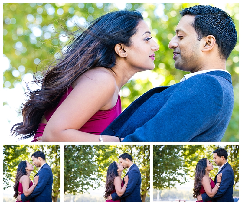 Stunning Asian London Engagement Photography South Bank