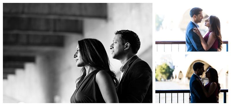 Romantic Asian London Engagement Photographer South Bank