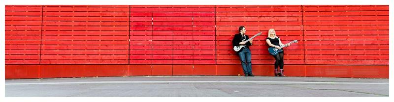 Stunning London Engagement Shoot Photographer_Romance & Rock Guitars