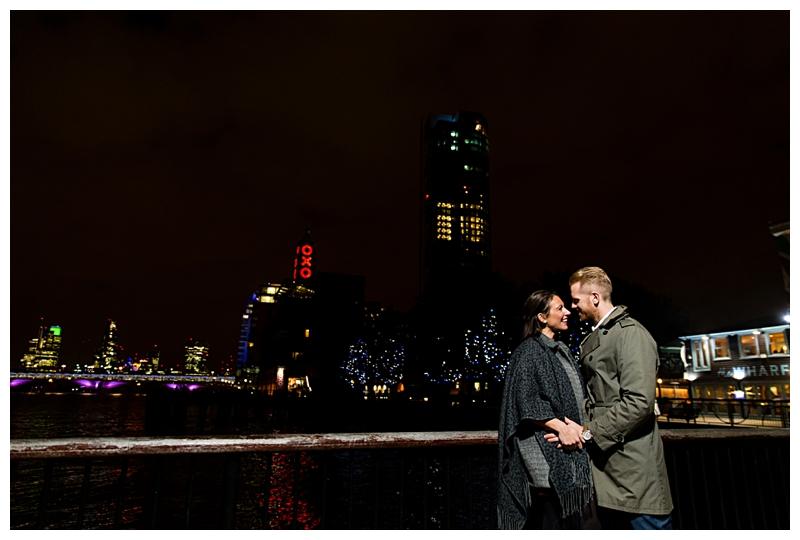 Gorgeous London Engagement Photographer South Bank