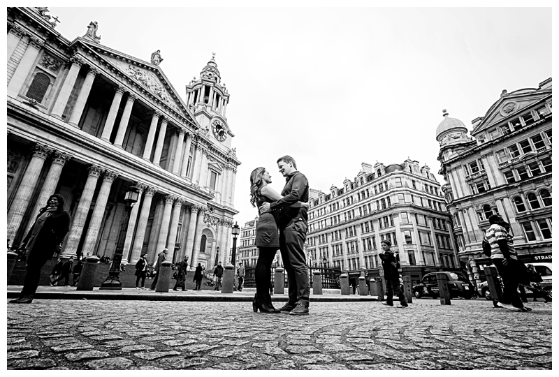 Best London Engagement Photographer St Pauls