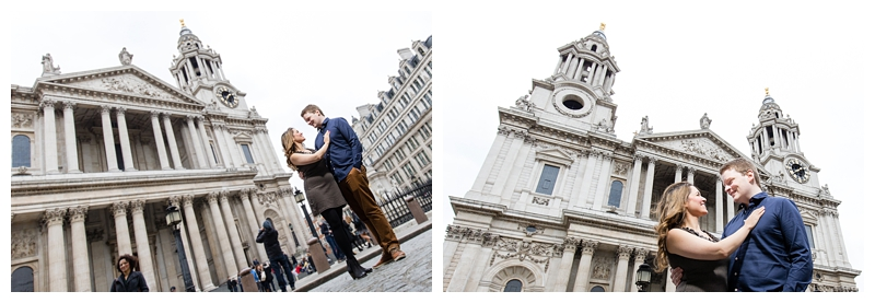 Best London Engagement Photography St Pauls