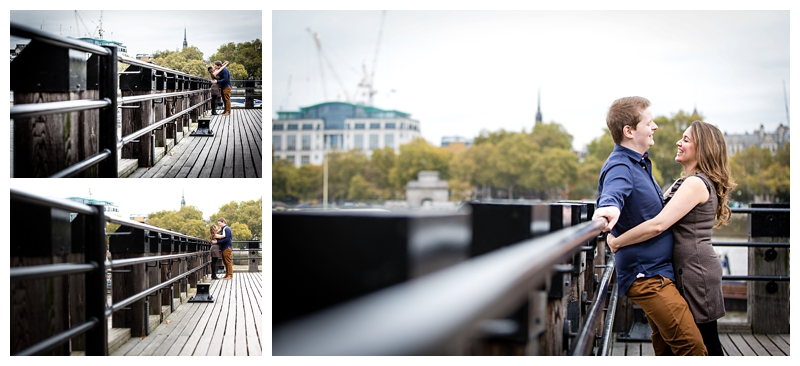 Awesome London Engagement Photographer River Thames