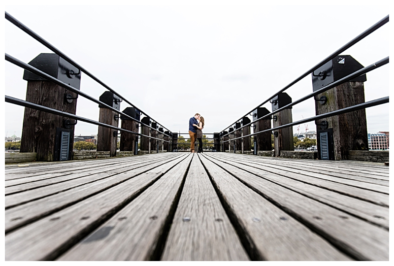 Brilliant London Engagement Photographer River Thames