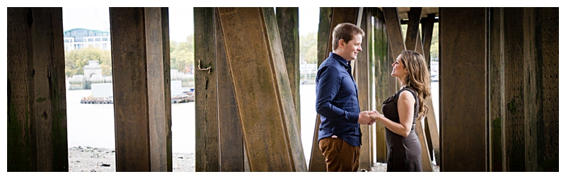 Romantic London Engagement Photographer River Thames