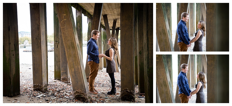 Natural London Engagement Photographer River Thames