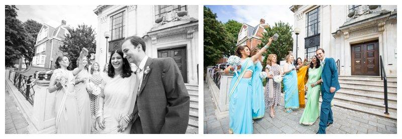 Brilliant London Wedding Photography Islington Town Hall
