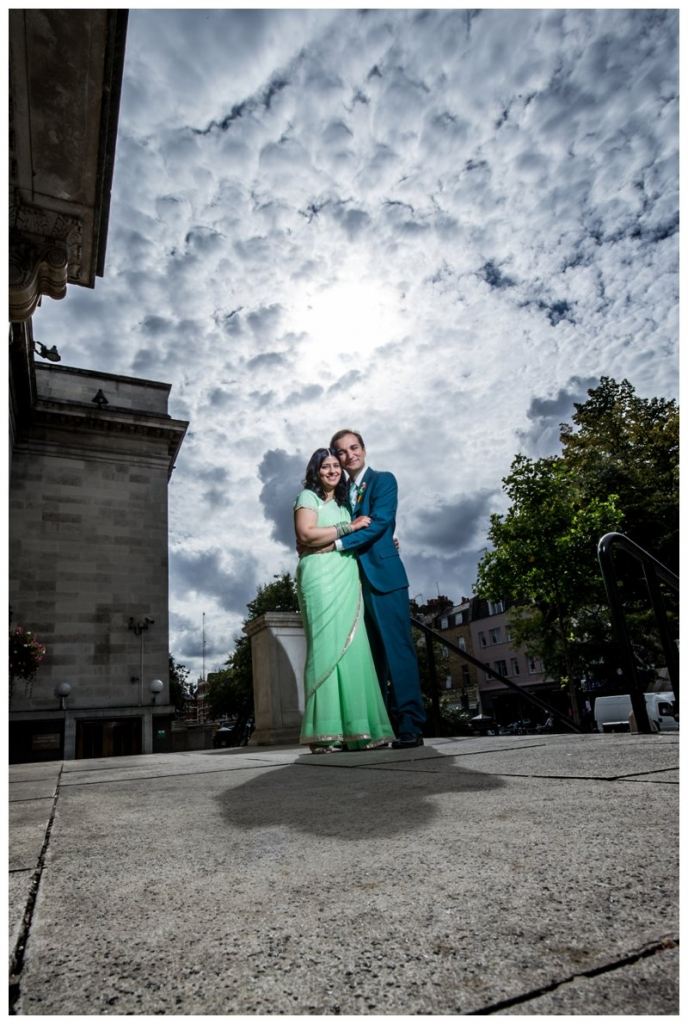 Creative London Wedding Photography Islington Town Hall
