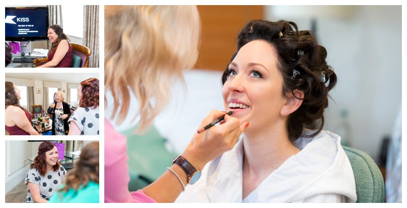 North London Hendon Hall Wedding Photographer Bridal Prep